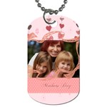 mothers day - Dog Tag (Two Sides)
