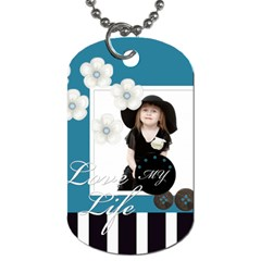 Kids By Jo Jo   Dog Tag (two Sides)   F7muvgoa9v7d   Www Artscow Com Front