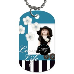 Kids By Jo Jo   Dog Tag (two Sides)   F7muvgoa9v7d   Www Artscow Com Back