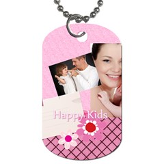 Kids By Jo Jo   Dog Tag (two Sides)   Lja5ysrzq3zw   Www Artscow Com Front