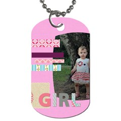 Kids By Jo Jo   Dog Tag (two Sides)   D8srotgknbiz   Www Artscow Com Back