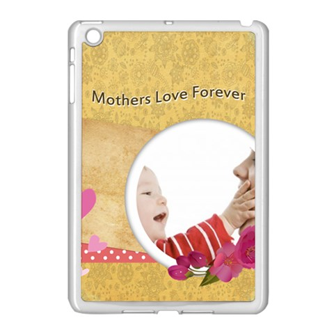 Mothers Day By Joely   Apple Ipad Mini Case (white)   9um6crrryc5q   Www Artscow Com Front