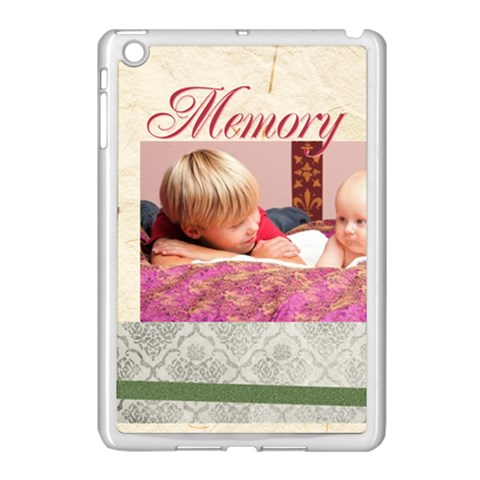 Mothers Day By Joely   Apple Ipad Mini Case (white)   Mrd2rfau3m79   Www Artscow Com Front