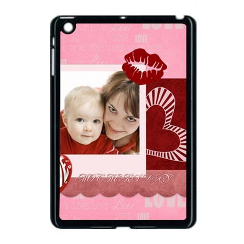 Mothers Day By Joely   Apple Ipad Mini Case (black)   Vr9fl90qvalg   Www Artscow Com Front