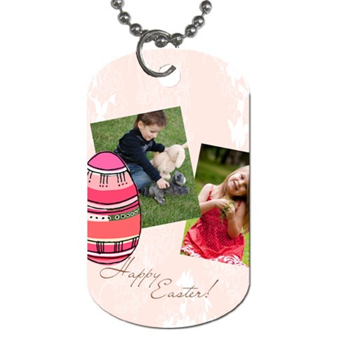 Easter By Easter   Dog Tag (one Side)   3gaitx55ea83   Www Artscow Com Front