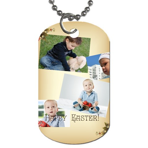 Easter By Easter   Dog Tag (one Side)   B7ycu8o23sj1   Www Artscow Com Front