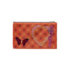 Bag Butterfly By Shelly   Cosmetic Bag (small)   7n1y6es8xkpg   Www Artscow Com Back
