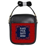 Red Heart Girl Sling Bag - Girls Sling Bag