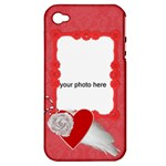 Romantic Love Apple iPhone 4/4s Hardshell case - Apple iPhone 4/4S Hardshell Case (PC+Silicone)
