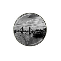 River Thames Waterfall 10 Pack Golf Ball Marker (for Hat Clip) by Londonimages