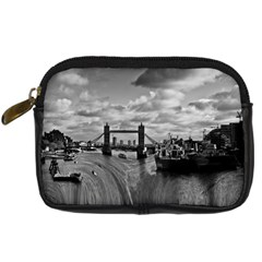 River Thames Waterfall Compact Camera Case by Londonimages