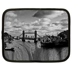 River Thames Waterfall 15  Netbook Case by Londonimages
