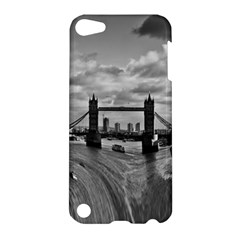 River Thames Waterfall Apple Ipod Touch 5 Hardshell Case by Londonimages