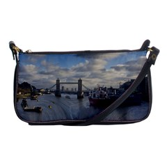 Thames Waterfall Color Evening Bag by Londonimages