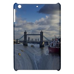 Thames Waterfall Color Apple Ipad Mini Hardshell Case by Londonimages