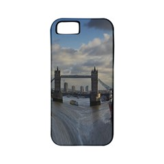 Thames Waterfall Color Apple Iphone 5 Classic Hardshell Case (pc+silicone) by Londonimages