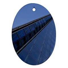 The Shard London Ceramic Ornament (oval) by Londonimages