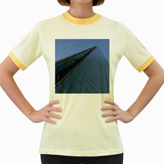 The Shard London Colored Ringer Womens  T Shirt