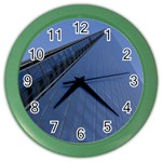 The Shard London Colored Wall Clock Front