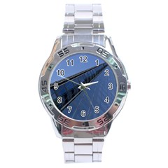 The Shard London Stainless Steel Analogue Watch (round)