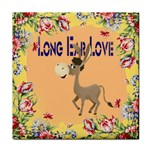 Longear love Tile Coaster