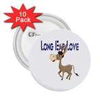 Longear love 2.25  Button (10 pack)