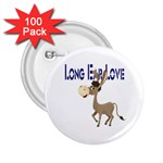 Longear love 2.25  Button (100 pack)