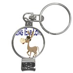 Longear love Nail Clippers Key Chain
