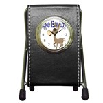 Longear love Pen Holder Desk Clock