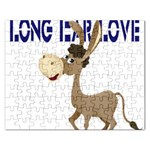Longear love Jigsaw Puzzle (Rectangular)