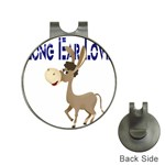 Longear love Golf Ball Marker Hat Clip