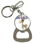 Longear love Bottle Opener Key Chain