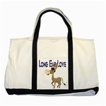 Longear love Two Tone Tote Bag