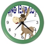 Longear love Color Wall Clock