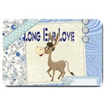 Longear love Large Doormat
