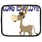 Longear love Netbook Case (Large)
