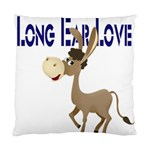 Longear love Cushion Case (One Side)