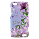 HTC One V cover Lavender Butterflies - HTC One V Hardshell Case