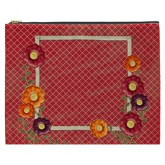 Flowers Cosmetic Bag Xxxl By Zornitza   Cosmetic Bag (xxxl)   Ehr6izw34cu8   Www Artscow Com Front