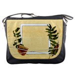 Dry Autumn Leaves Messenger bag