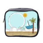 Summer Sea Mini toiletries bag - Mini Toiletries Bag (Two Sides)