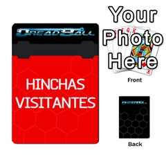 Dreadball Negro By Gonzalo   Playing Cards 54 Designs   Rmu25w1tggt1   Www Artscow Com Front - Heart9
