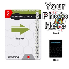 Dreadball Negro By Gonzalo   Playing Cards 54 Designs   Rmu25w1tggt1   Www Artscow Com Front - Diamond4