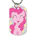 Pinkie Pie/Fluttershy My Little Pony dog tag (2 sided) - Dog Tag (Two Sides)