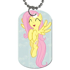 Pinkie Pie/fluttershy My Little Pony Dog Tag (2 Sided) By Jerrod Barton   Dog Tag (two Sides)   Za15yxq1brsw   Www Artscow Com Back