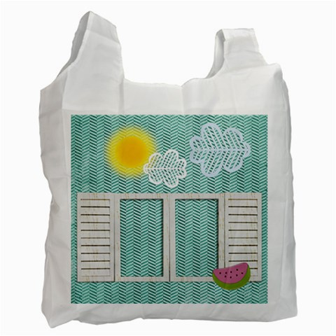 Delicious And Summerly Recycle Bag (one Side) By Zornitza   Recycle Bag (one Side)   9b8zl4qh1lx8   Www Artscow Com Front