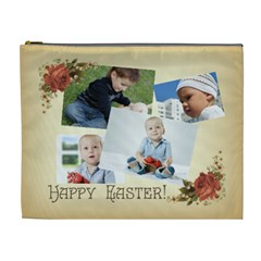 Easter By Easter   Cosmetic Bag (xl)   Rtfvjj3u03g8   Www Artscow Com Front