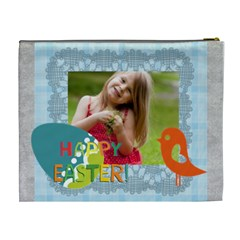 Easter By Easter   Cosmetic Bag (xl)   Thfxrtu28o21   Www Artscow Com Back