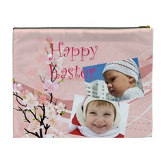 Easter By Easter   Cosmetic Bag (xl)   5zvxhy4gbhq5   Www Artscow Com Back
