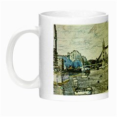 River Thames Art Glow In The Dark Mug by Londonimages